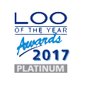 Loo of the Year award - Platinum Winner 2017