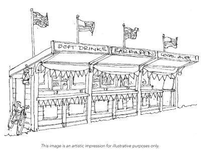 1940's Bar - Food Village